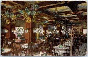 Milwaukee WI Postcard NEW SHANGHAI Mandarin Restaurant Chinese Food 1915 Cancel