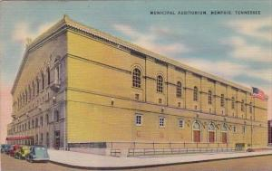 Municipal Auditorium Memphis Tennessee