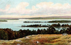 Maine Belgrade Lakes Great Lake From Smiths Hill 1911