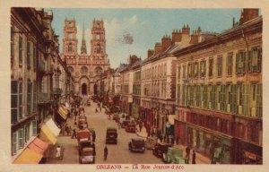 ORLEANS, France, 1910-20s; La Rue Jeanne-d'Arc
