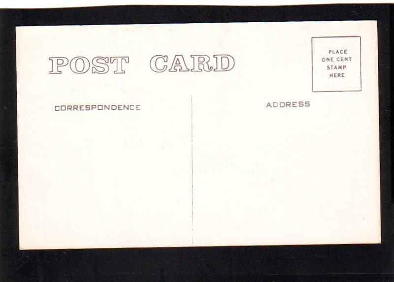 P1510 vintage unused postcard northrop flying wing yb-49 in flight