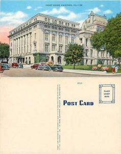 Court House, Rockford, Illinois, IL, Linen