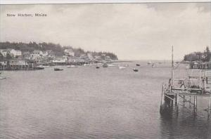 Maine New Harbor Albertype