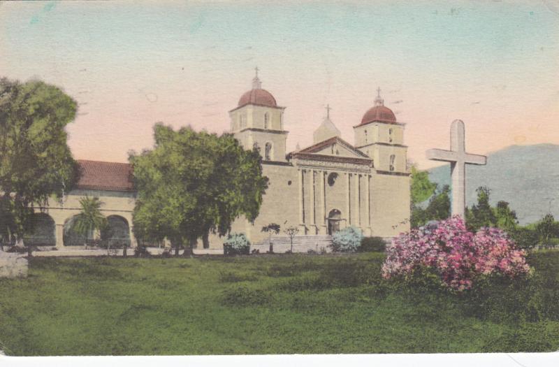 SANTA BARBARA , California , 1900-10s; Mission