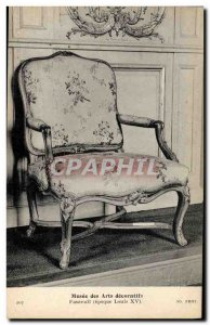 Old Postcard Musee des Arts Decoratifs British silver