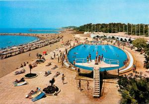 NUEVA ANDALUCIA HOTEL CLUB SIESTA  Marbella Costa del Sol SPAIN Postcard