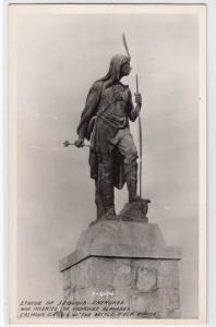 Statue of Sequoia - Cherokee, Calhoun GA