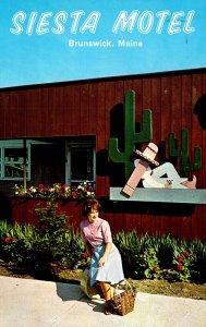 Maine Brunswick The Siesta Motel Pleasant Street