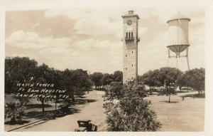 RP: SAN ANTONIO , Texas , 1910-30s ;Fort Sam Houston Watch Tower