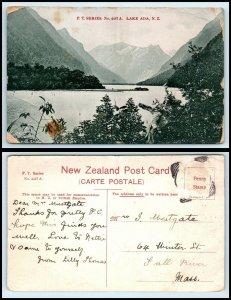 NEW ZEALAND Postcard - Lake Ada AH