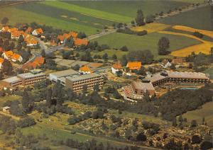 Bad Nenndorf Kurklinik Neidersachsen Hospital Aerial view Cars Auto