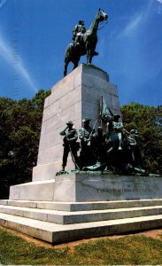 Pennsylvania Gettysburg Virginia State Monument Gettysburg National Military ...