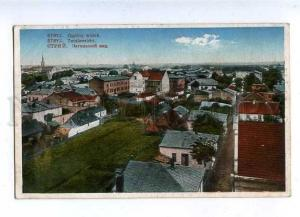 182804 WWI UKRAINE Stryj Vintage RPPC military postage