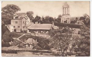 Ayrshire; Burns Monument & Tea Gardens, Ayr PPC By Philco, 1925 PMK