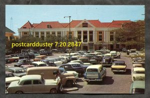 2847 - CURACAO 1970s Wilhelminaplein. Classic Cars, Delivery Truck
