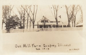 RP; GODFREY, Illinois, 1913; Oak Hill Farm