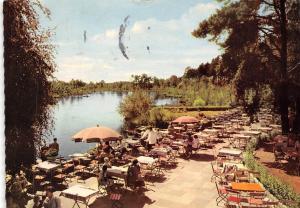 Kurhaus u. Pavillon Am Heidesee bei Gifhorn Terrace Lake