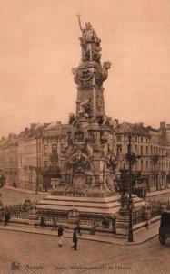 Statue Affranchissement de L'Escaut,Antwerp,Belgium BIN