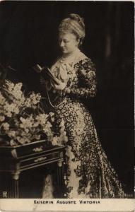 CPA AK Kaiserin Auguste Viktoria GERMAN ROYALTY (701346)