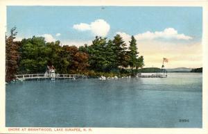 NH - Lake Sunapee. The Shore at Brightwood