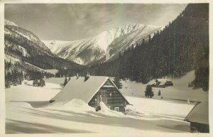 Postcard Czech Republic Riesengebirge