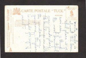 Villes de France Monte Carlo Tuck Oilette Carte Postale Postcard Carte Postale