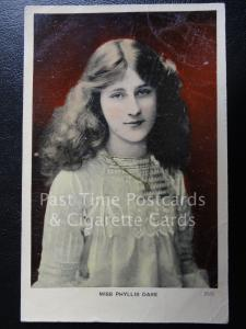 c1907 - Actress: Miss Phyliss Dare