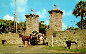 Florida St Augustine Old City Gates