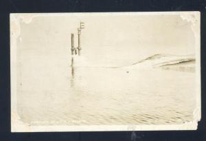 RPPC U.S. NAVY SUBMARINE PERISCOPE VINTAGE MILITARY WWI REAL PHOTO POSTCARD