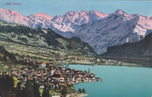 Switzerland Brienz General View With The Alps sk3699