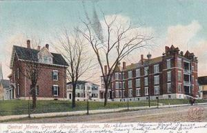 Maine Lewiston Central Maine General Hospital 1906