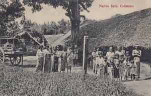 Native Huts , Colombo , CEYLON , 1900-10s