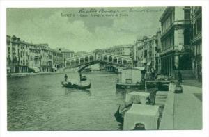 Venezia - Canal Grande e Pointe di Rialto, ITALY , 00-10s