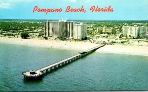 Florida Pompano Beach Fishing Pier