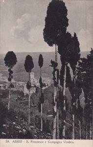 Italy Assisi Perugia Saint Francersco E Campagna Umbra