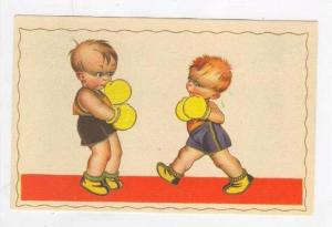 Two boy boxers, 1920-30s