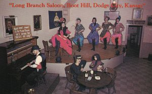 DODGE CITY, Kansas, 50-60s; Long Branch Saloon, The Daisy Belle Can Can Girls