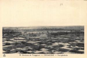 Algeria Temacine General view Touggourt Postcard