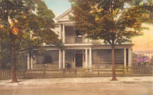Staunton Virginia Woodrow Wilsons Birthplace Antique Postcard K670678