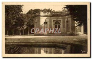 Old Postcard Versailles french pavilion built by Gabriel