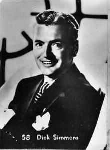 Movie Actor Dick Simmons M.G.M.