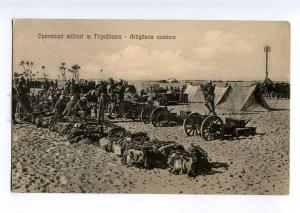 235417 ITALIAN military operations Tripoli Libya Artillery OLD