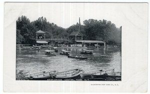 Central Park, N.Y., Boat House