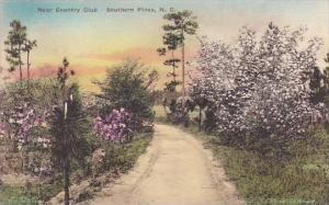 Country Club Southern Pines North Carolina Albertype Handcolored