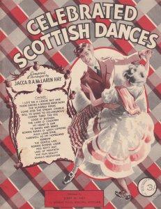 Celebrated Scottish Dances Scotland Sheet Music Album Book