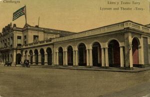 cuba, CIENFUEGOS, Lyceum and Theatre Terry, Liceo y Teatro (1910s)
