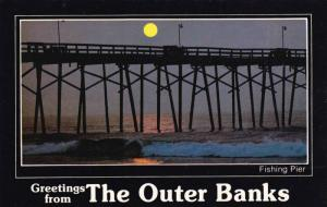 Fishing Pier,  Outer Banks,  North Carolina,   40-60s