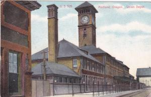 PORTLAND, Oregon, PU-1910; U. S. 526, Union Depot
