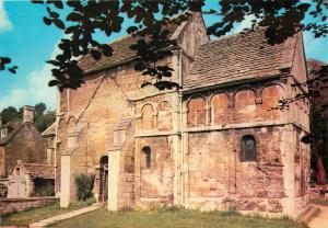 Saxon Church St. Lawrence Bradford-on-Avon Wiltshire England Postcard