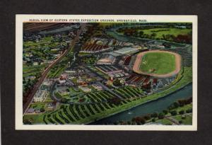 MA EXPO Eastern State Exposition Springfield Mass Massachusetts Postcard Big E